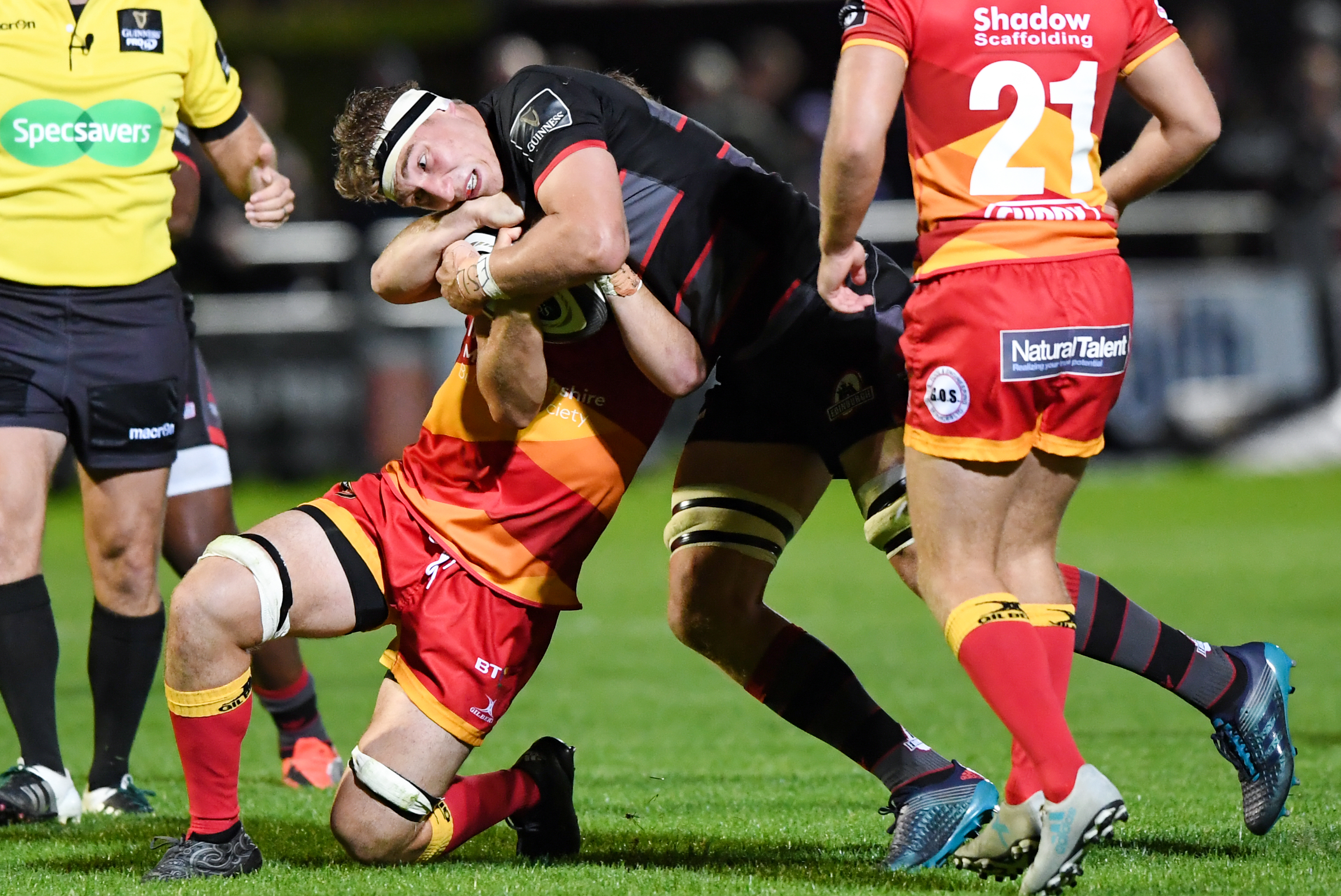 Jamie Ritchie is being rested after two outstanding performances to start Edinburgh's PRO14 campaign.