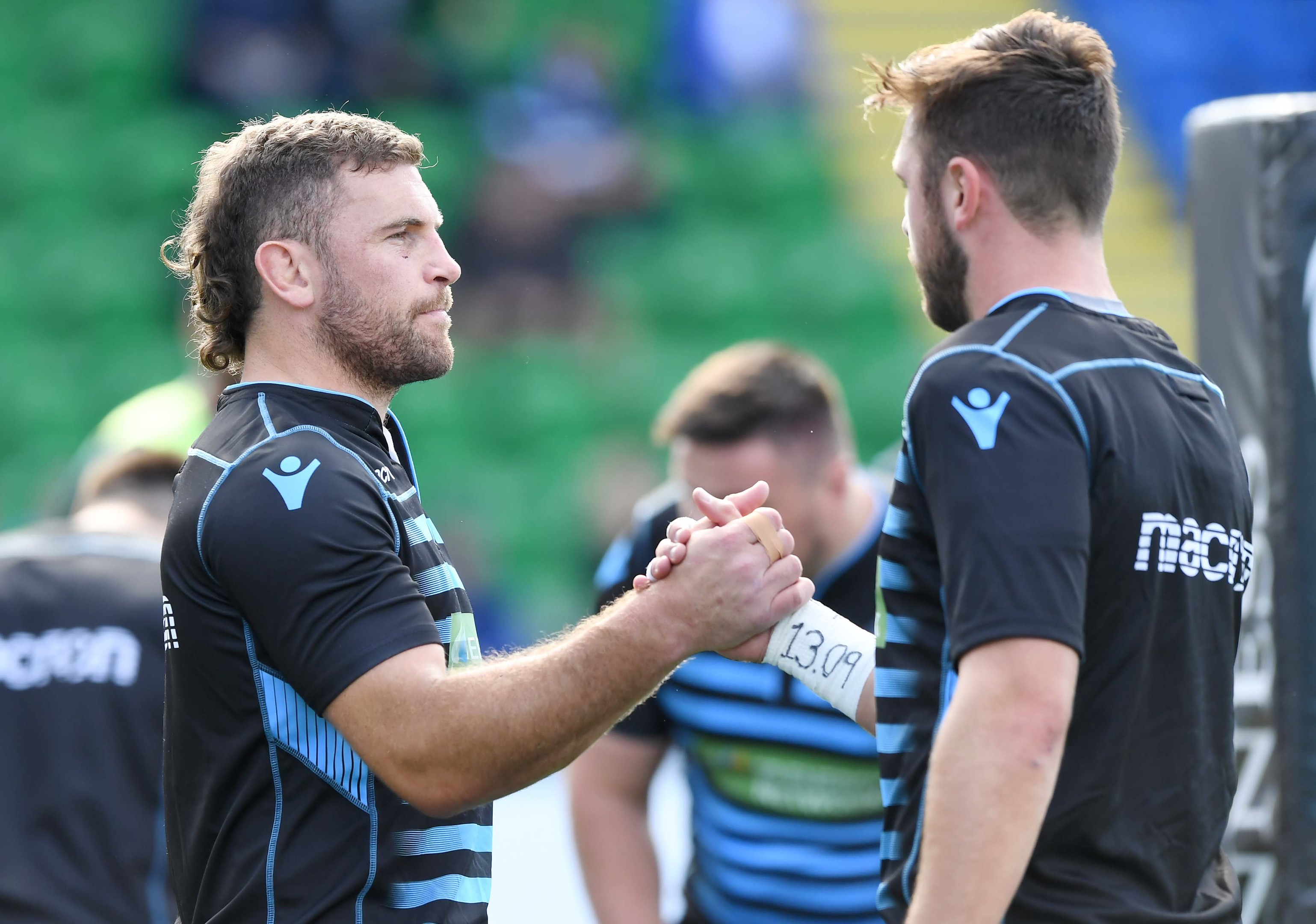 Callum Gibbins and Ryan Wilson shared captaincy duties for Glasgow in recent years.