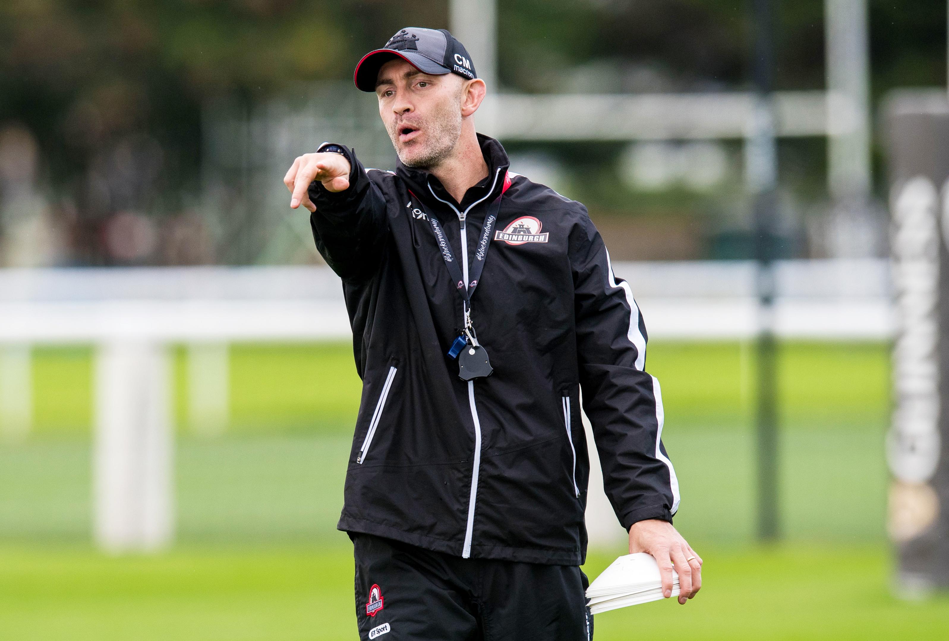 Edinburgh defence coach Calum MacRae has swiftly improved one of the club's problem areas.