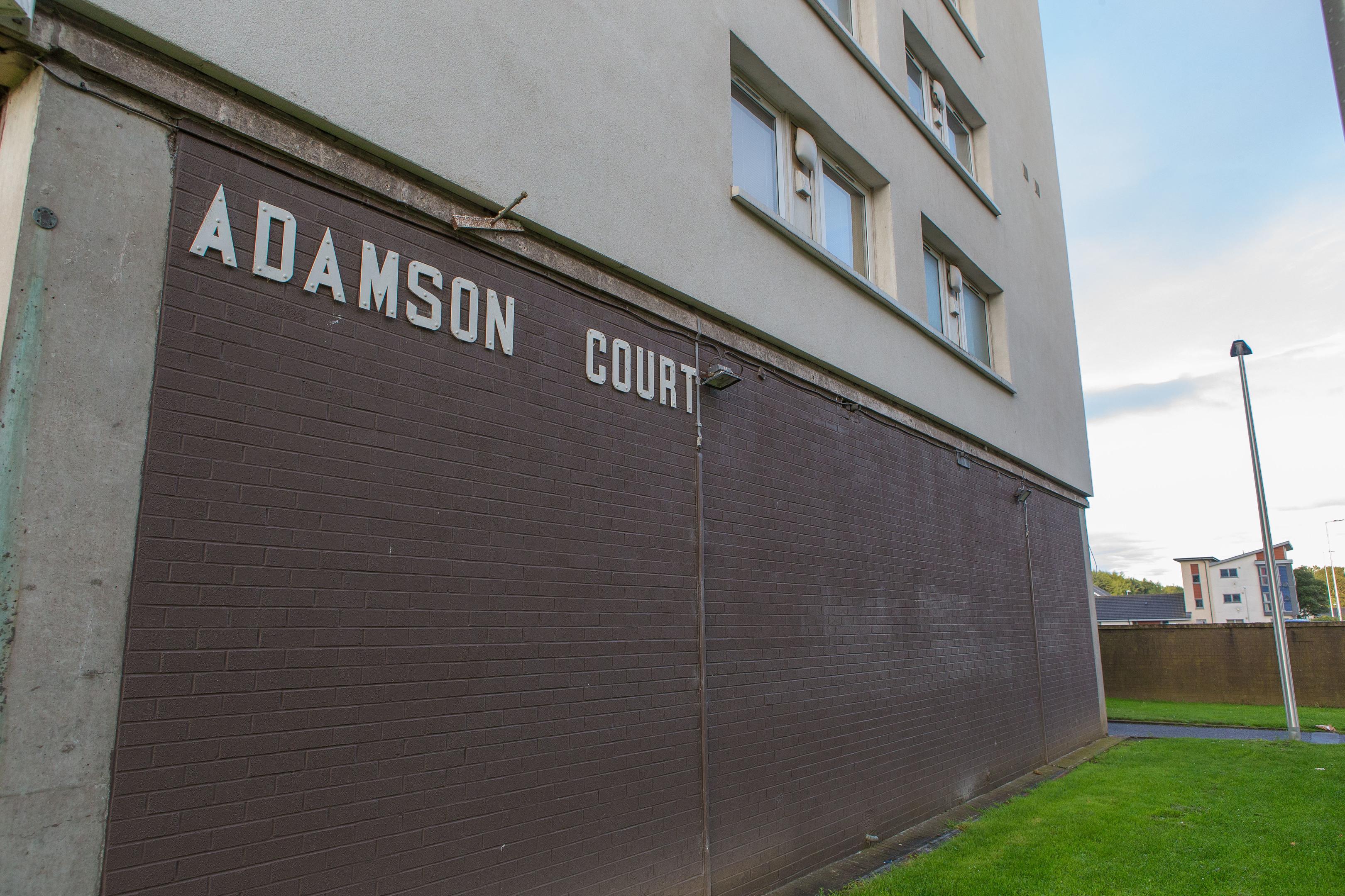 Adamson Court.