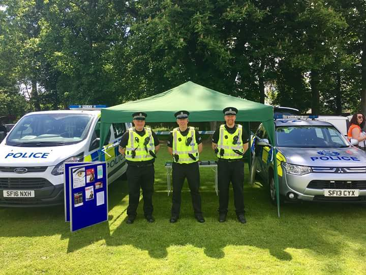 Special Constables are involved in a wide range of activities