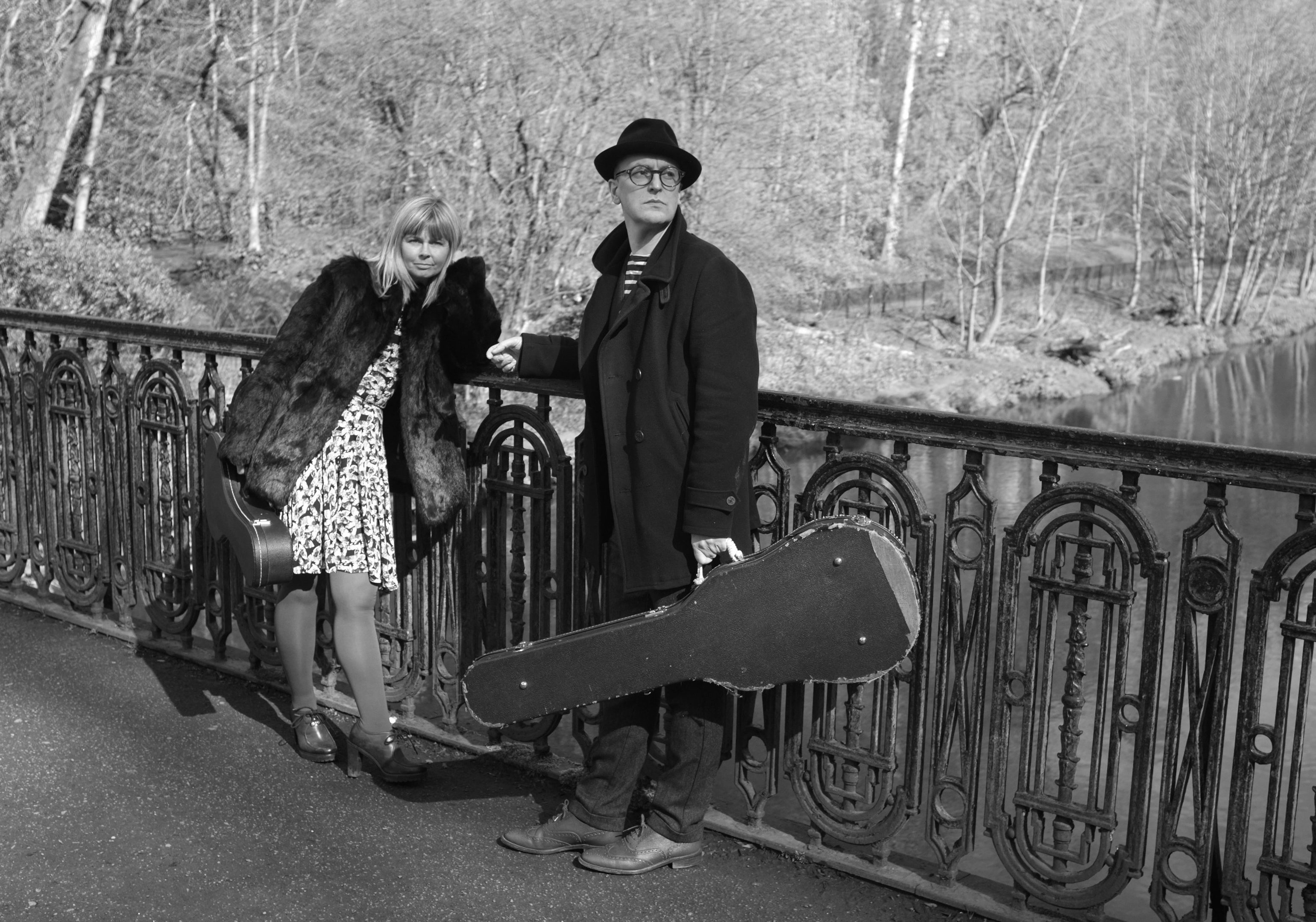 Frances McKee and Eugene Kelly of The Vaselines