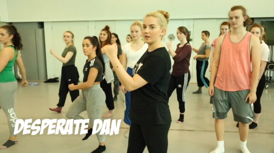 The dance takes inspiration from Dundee landmarks and characters.