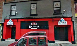 DeVitos nightclub in Arbroath.