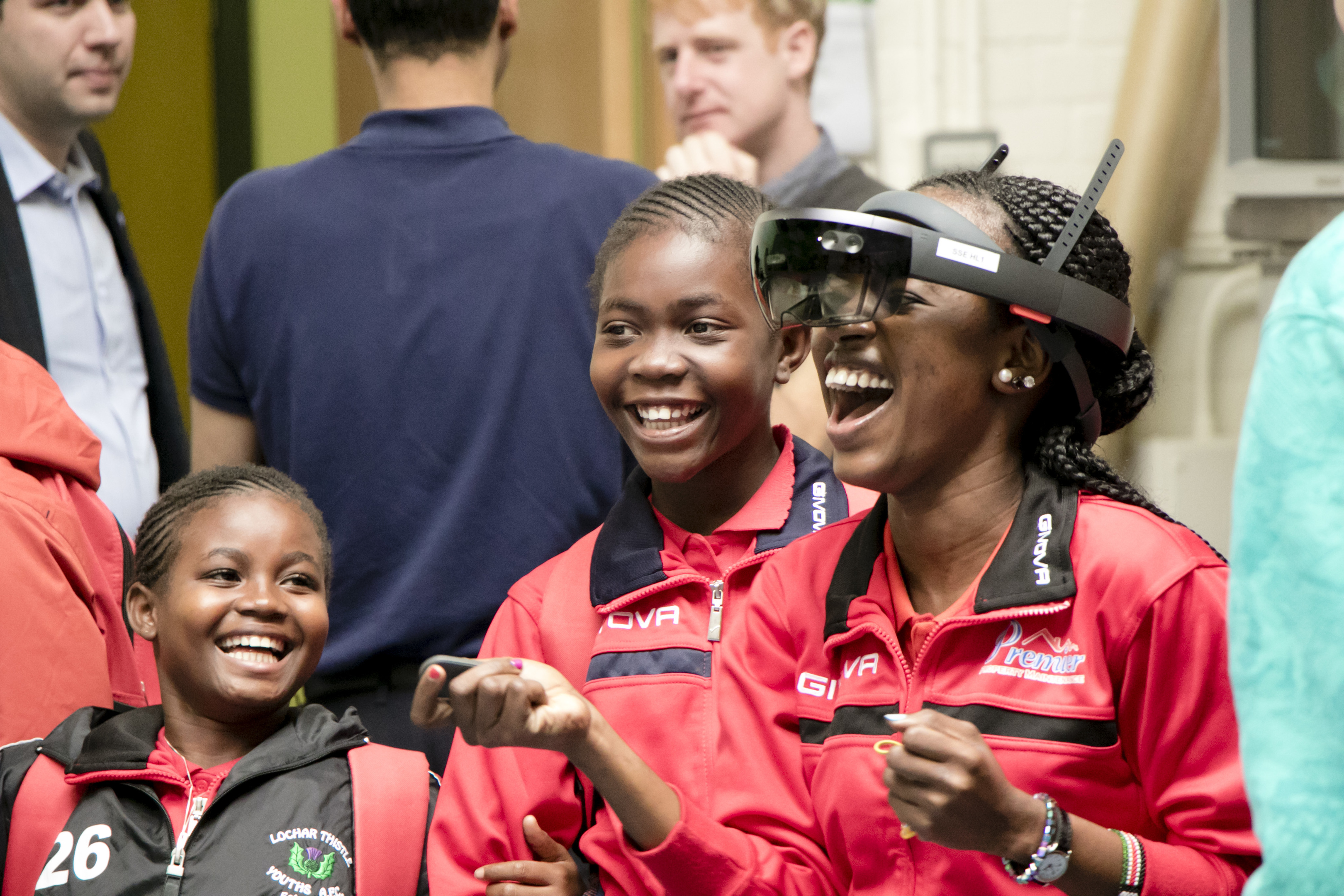 The Singing Children of Africa visit Dundee University
