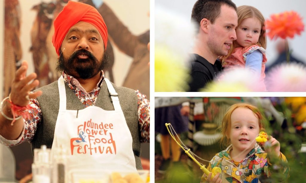 The 2017 Dundee Flower and Food Festival