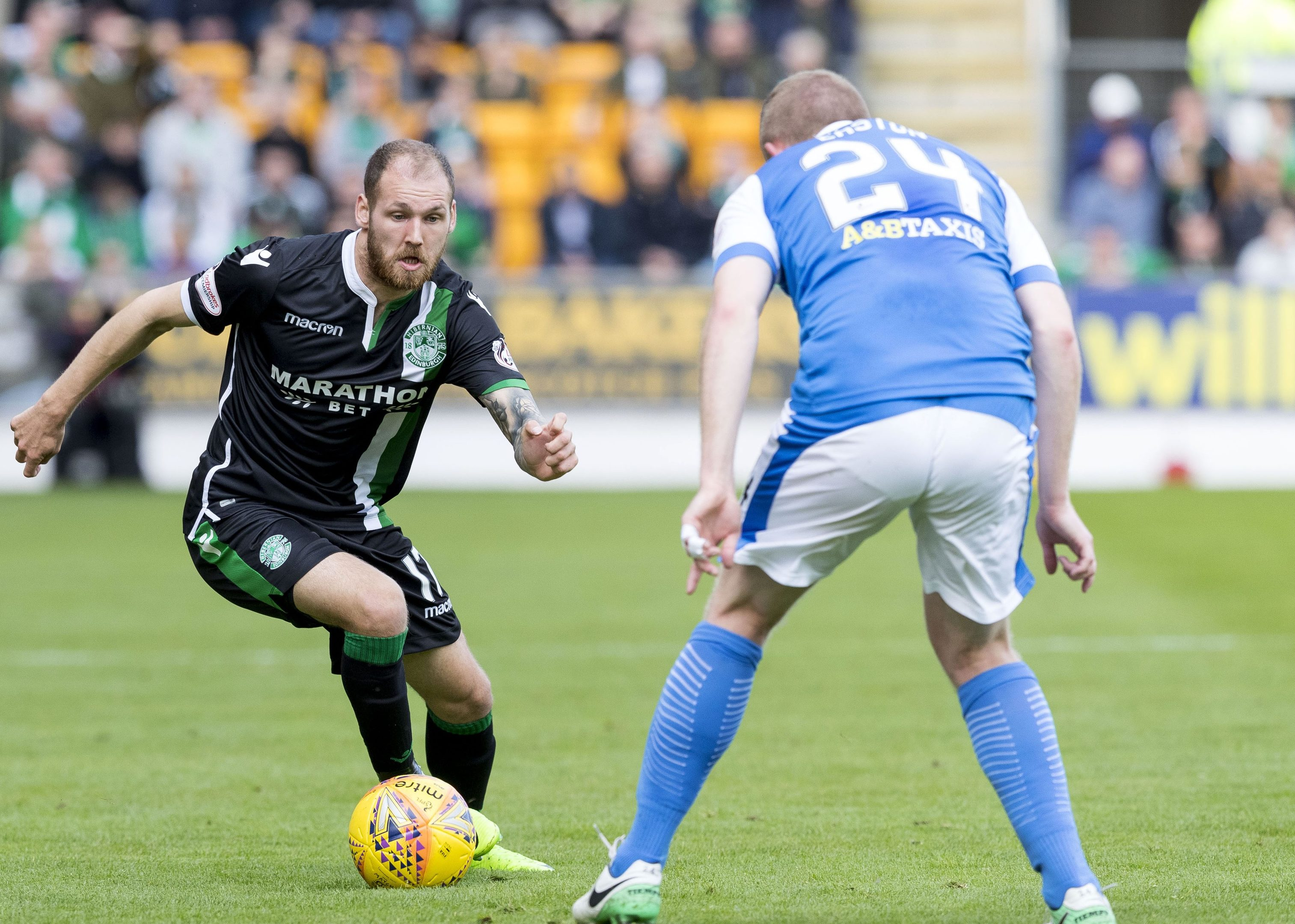 Action from McDiarmid Park.