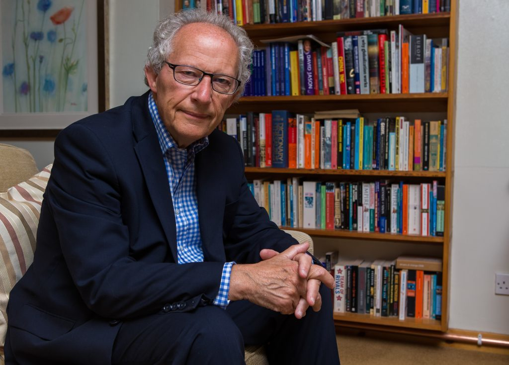 Former Scottish Labour leader Henry McLeish at home in Fife