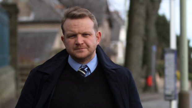 Councillor Alan Ross.