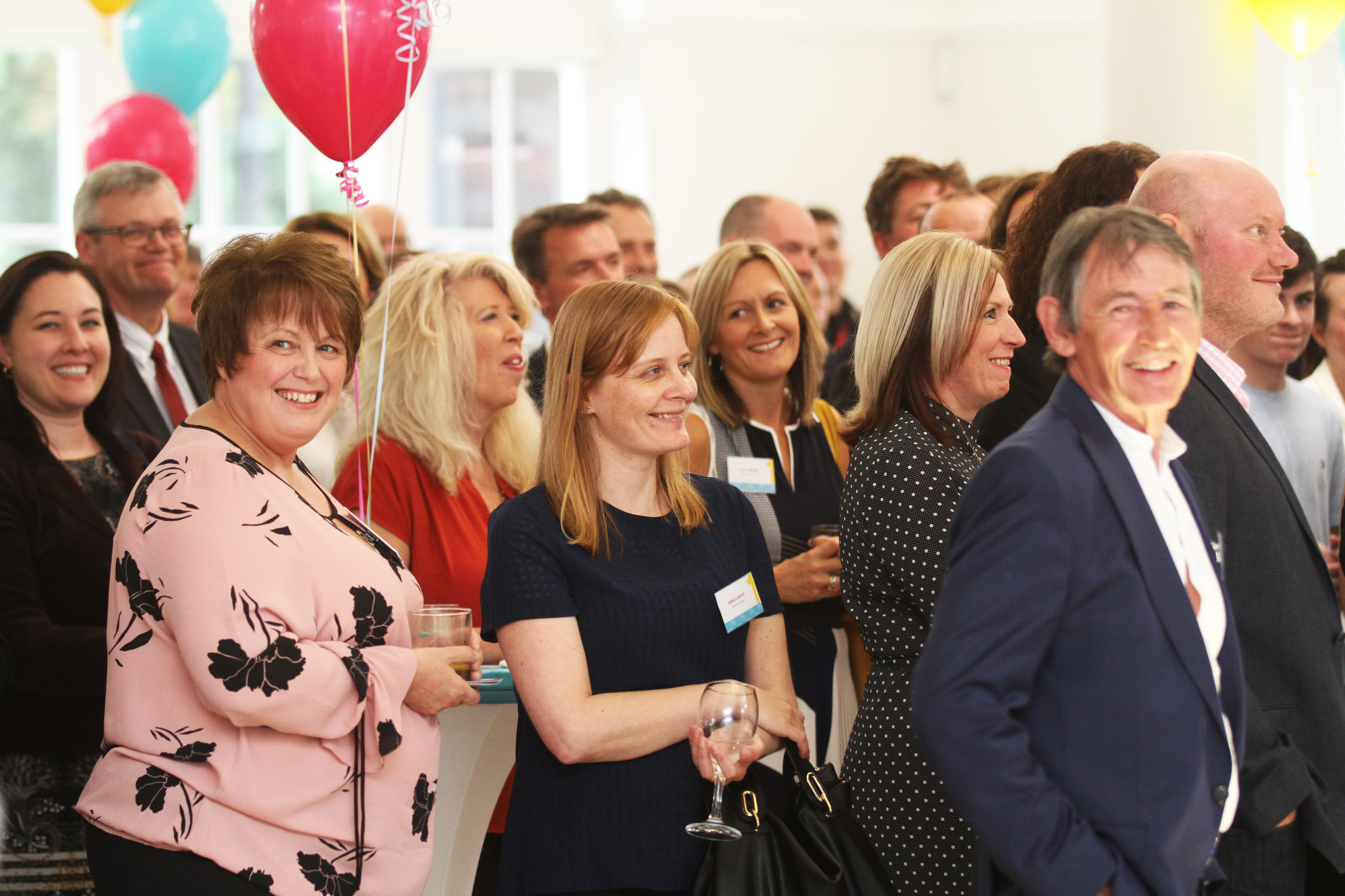 Some of the audience at the launch of BREAKTHROUGH Dundee on September 12.