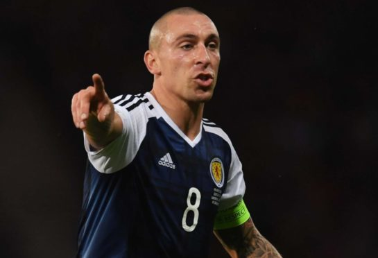 Scott Brown won't be back in Scotland colours.