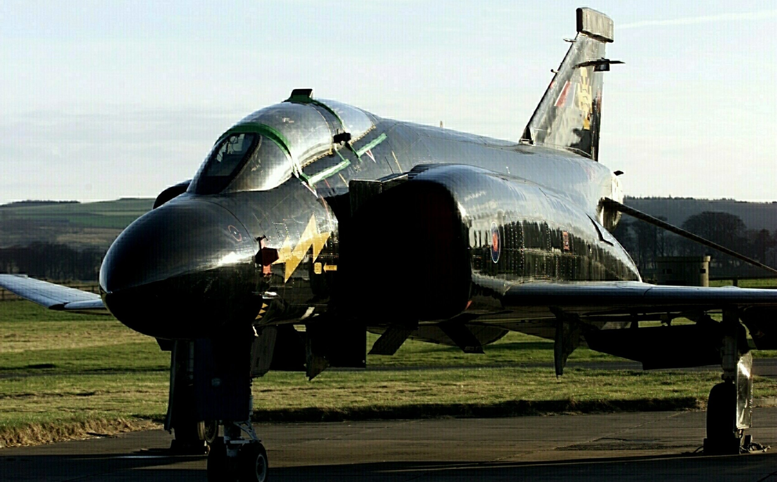 Black Mike at RAF Leuchars