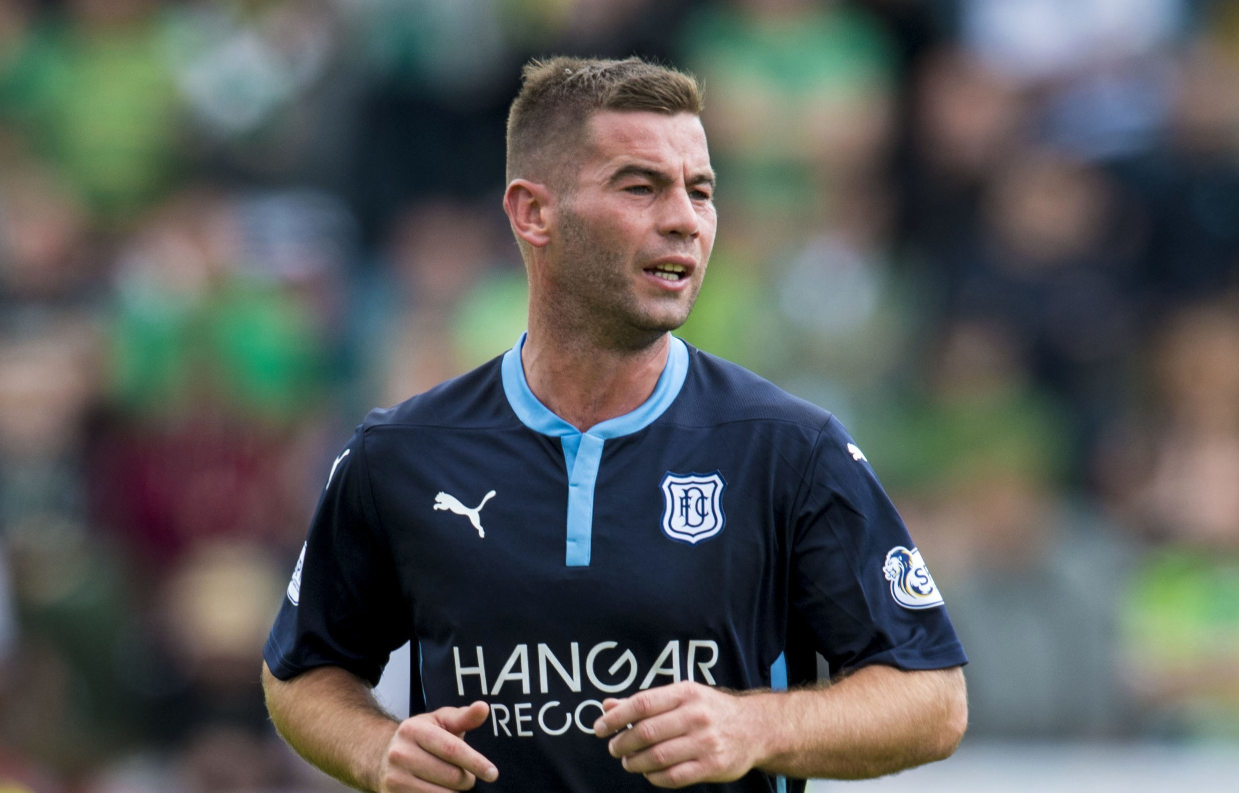 Peaso raved about his time at Dundee