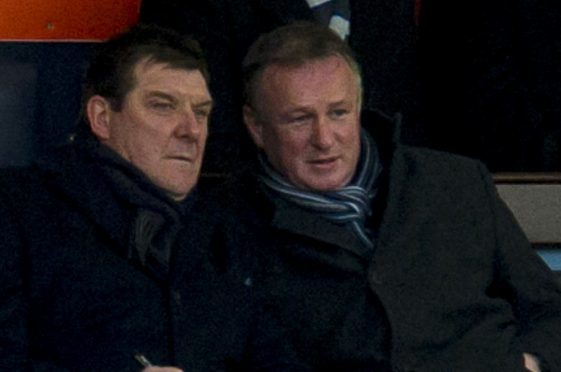 Tommy Wright and Michael O'Neill.