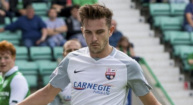 Graham Webster's goal proved crucial.