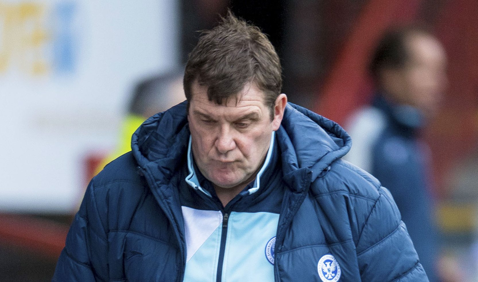 Tommy Wright has much to ponder.