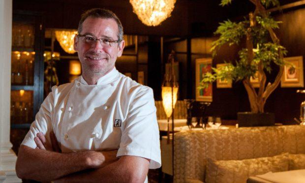 Chef Andrew Fairlie.