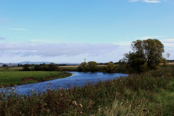 The River Isla.