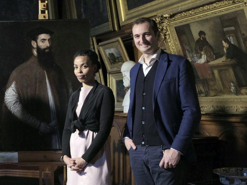Dr Bendor Grosvenor and Emma Dabiri.