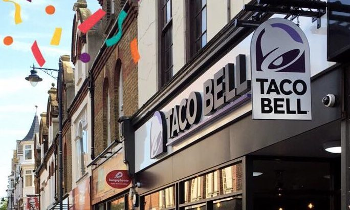 Taco Bell in Woking.