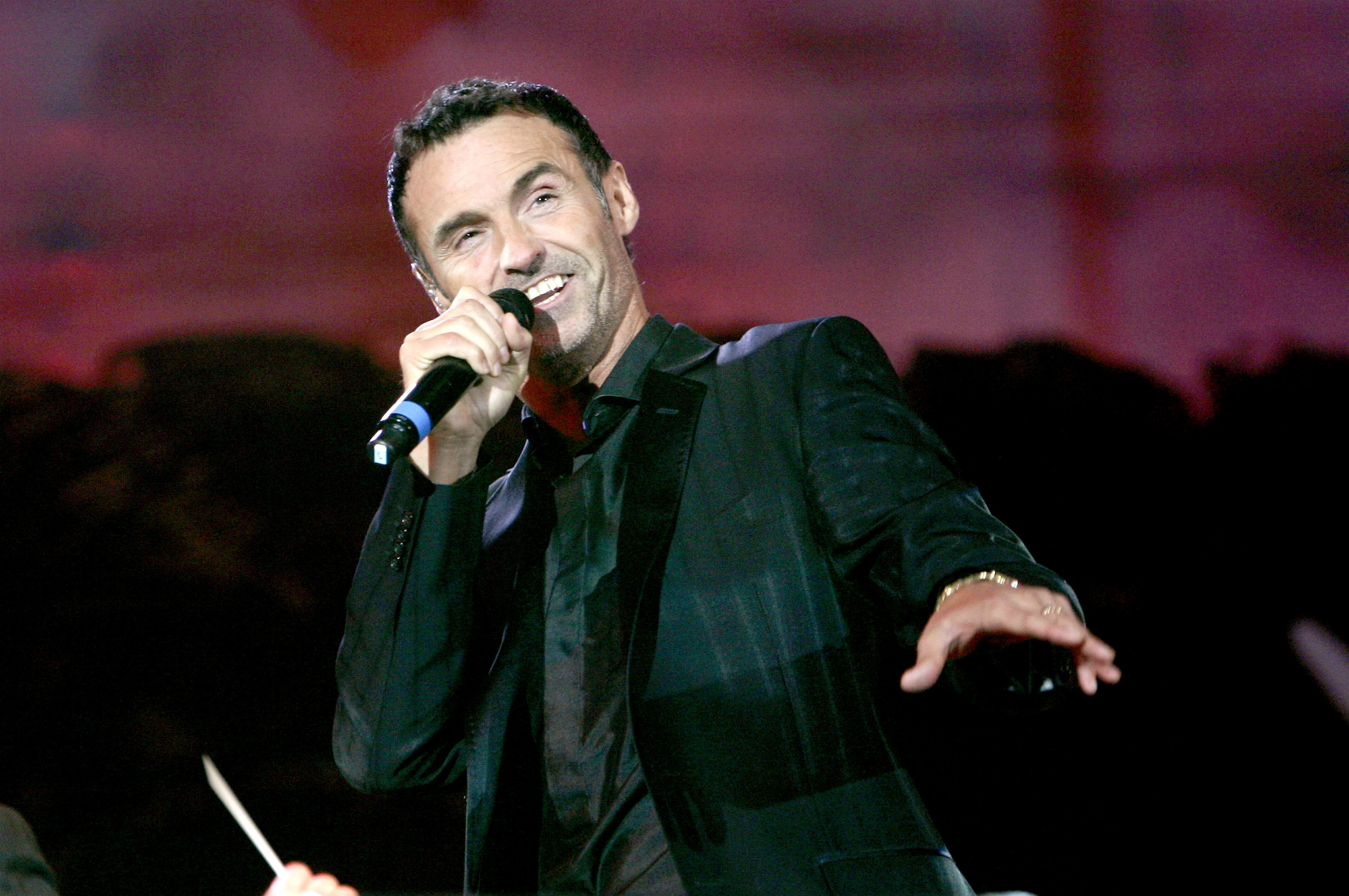 Marti Pellow on stage during BBC Radio 2's 'Thank You For The Music, A Celebration of the Music of ABBA' show