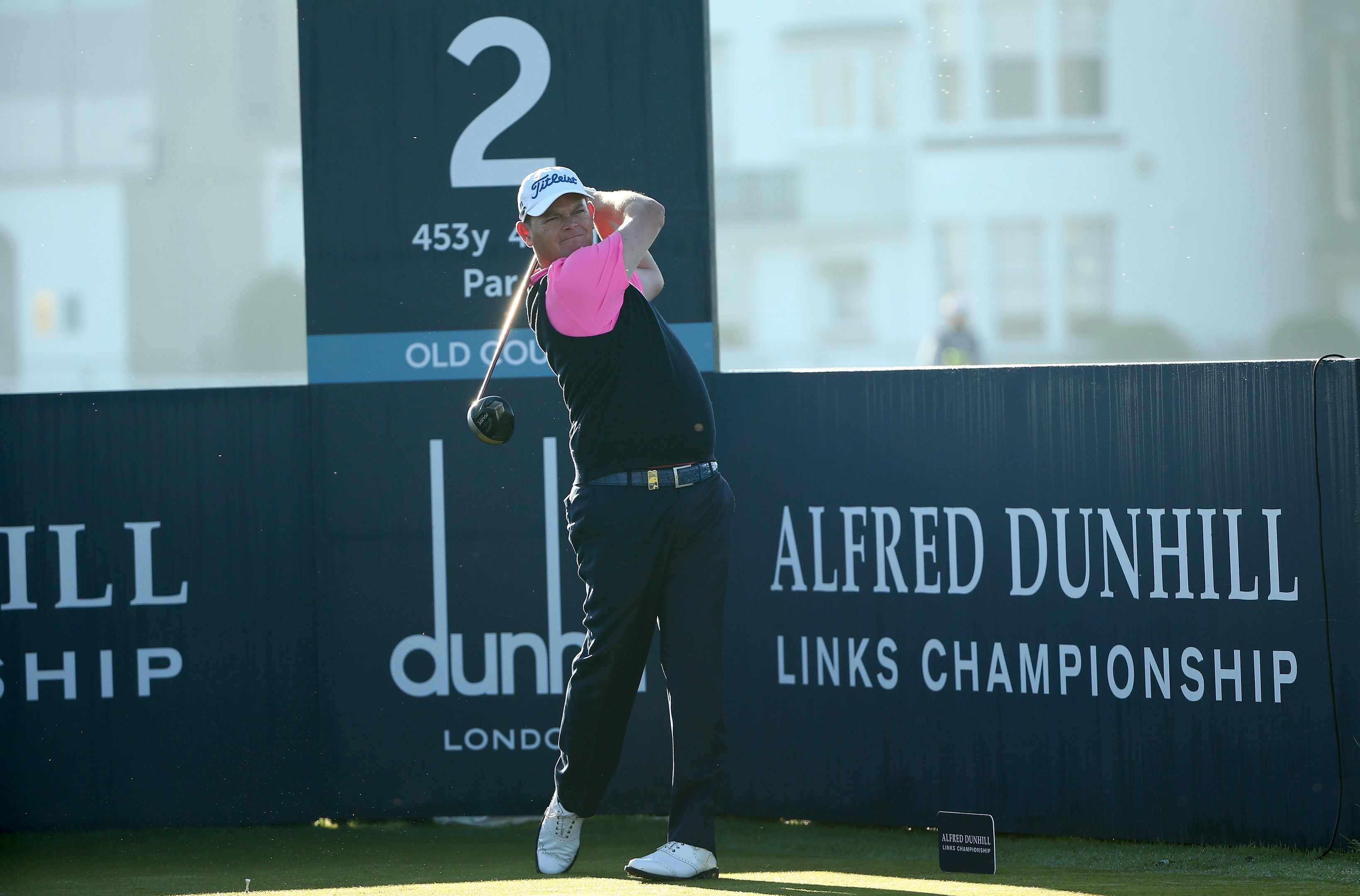 David Drsydale is one of several Scots who usually enjoys a good week at the Dunhill.