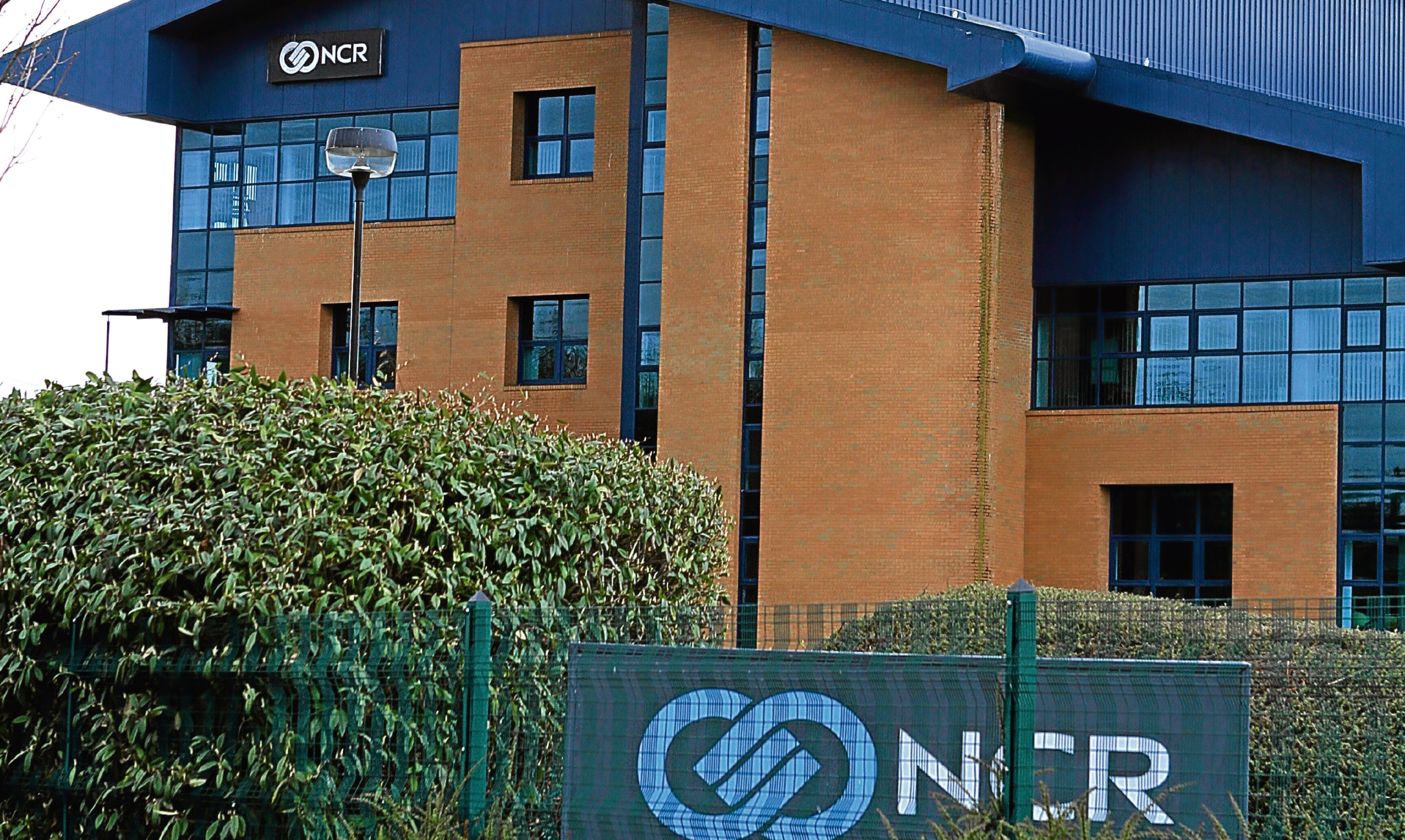 The NCR building in Dundee