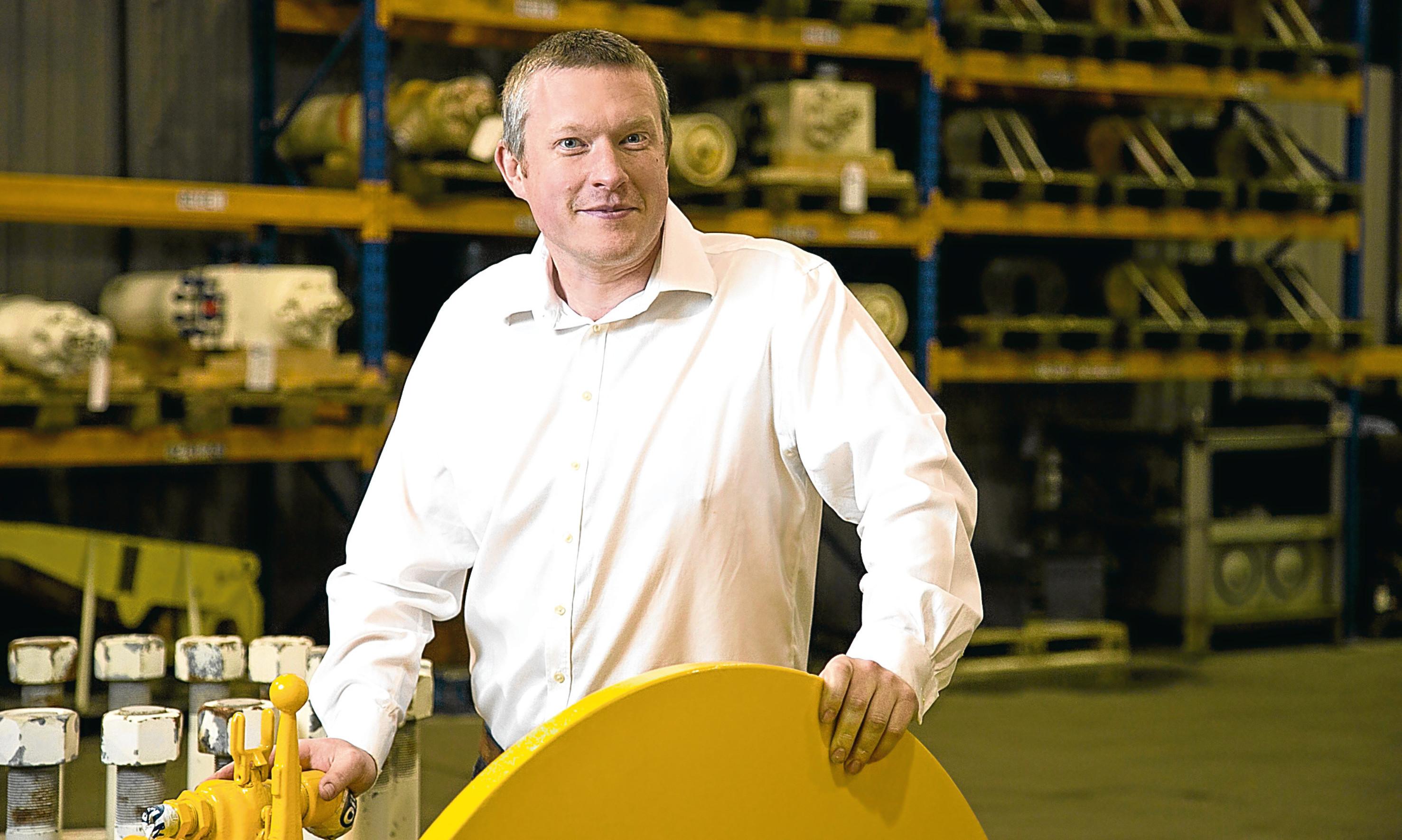Alex Fyfe, managing director at OilMac
