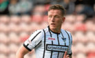 Former Dunfermline defender Lee Ashcroft joined Dundee on a two-year deal.