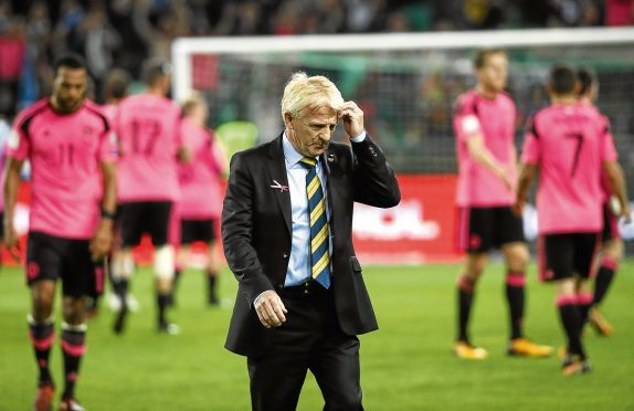 Gordon Strachan may be gone, and if Jim takes over, only players plying their trade in Scotland would get a Scotland game.