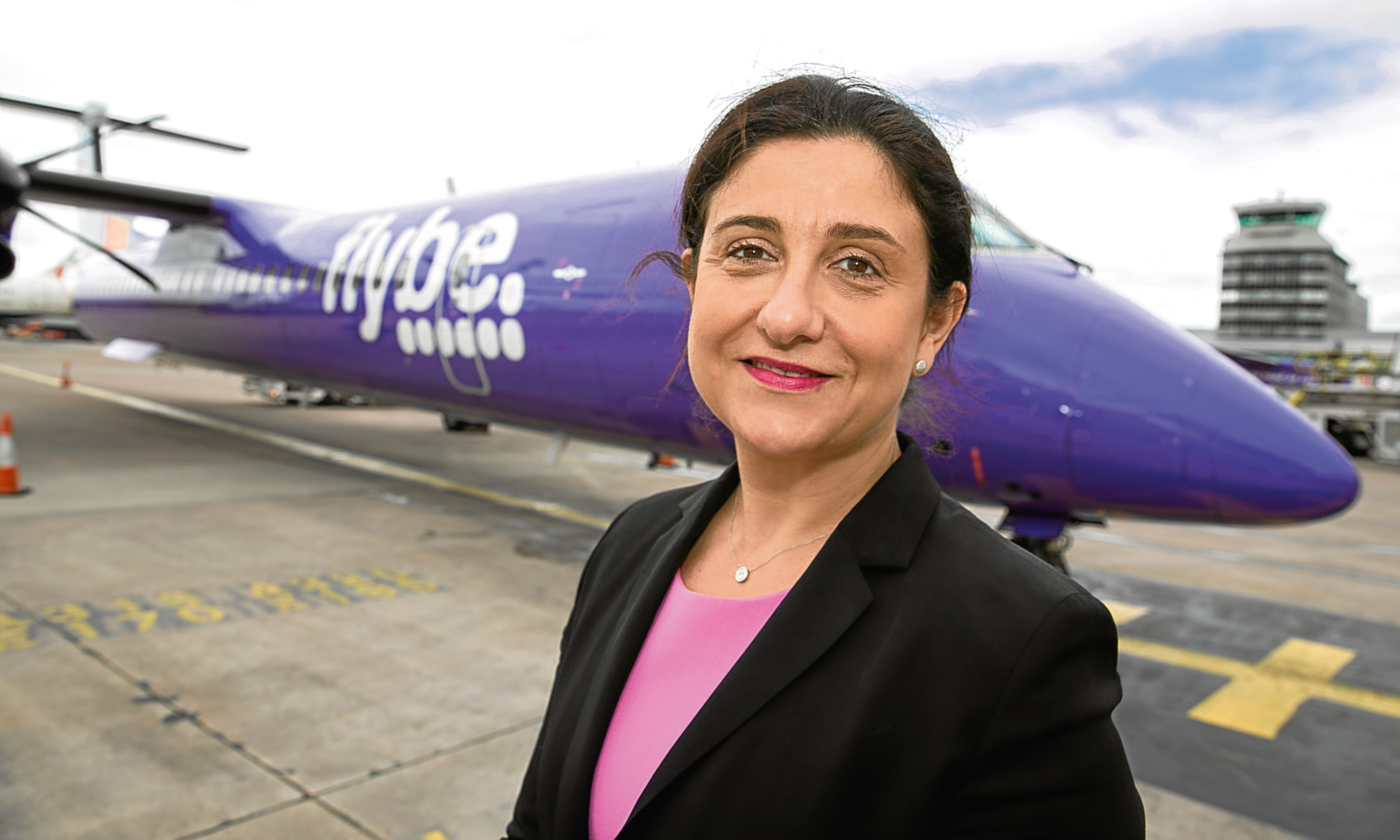 Flybe chief executive Christine Ourmieres-Widener