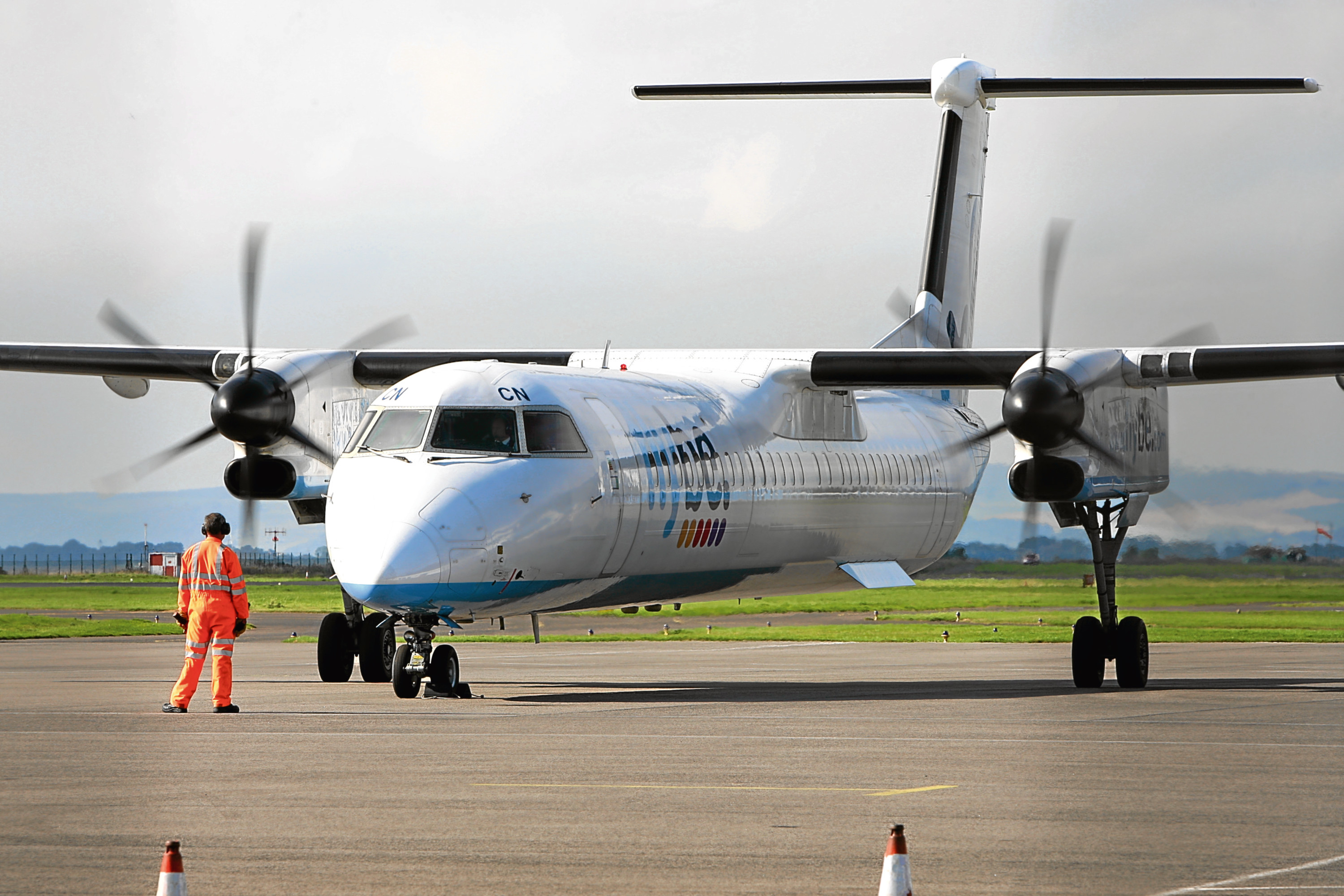FlyBe withdrew the Dundee to Amsterdam service in December.