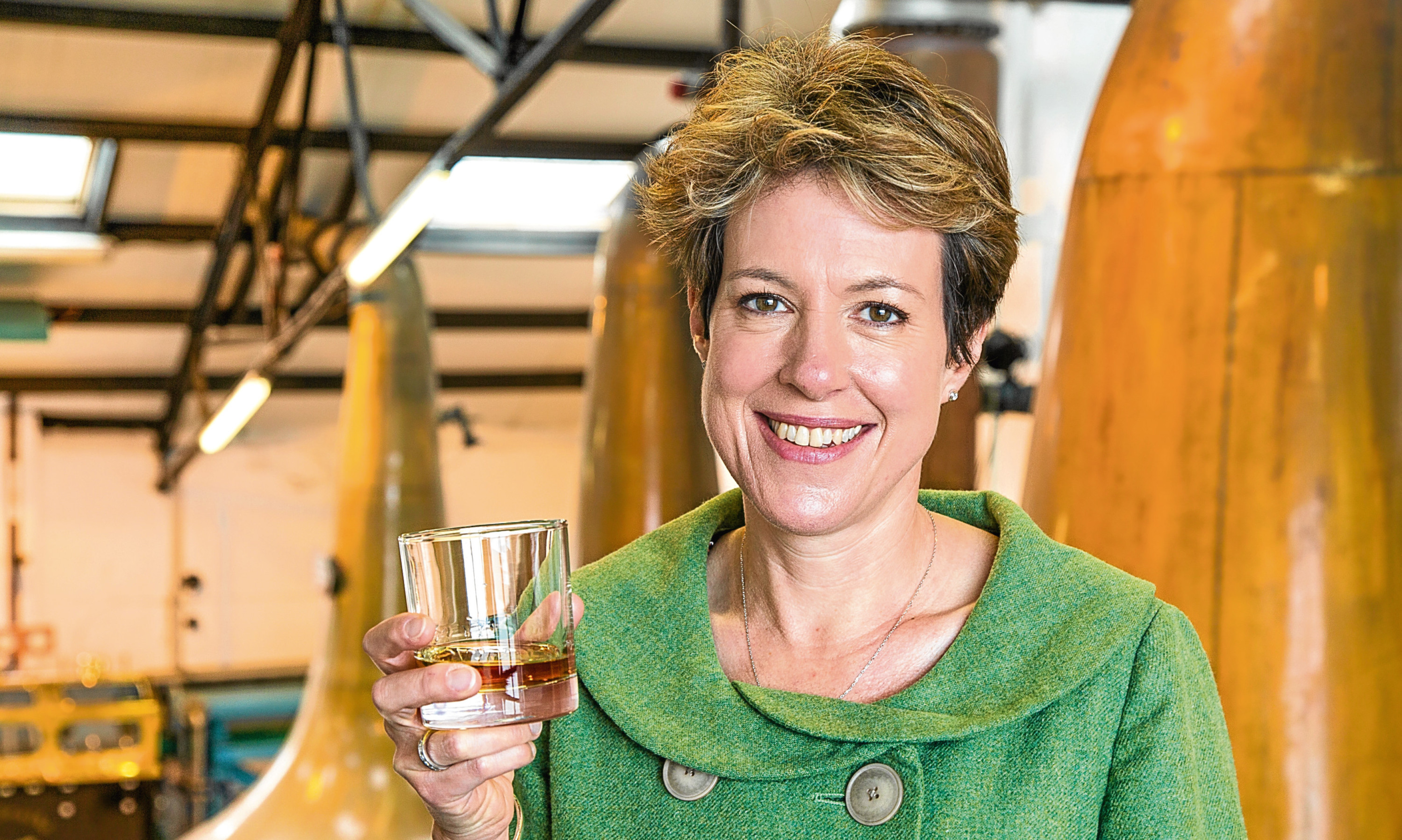 Scotch Whisky Association chief executive Karen Betts has toasted the rising value of Scotch whisky exports.