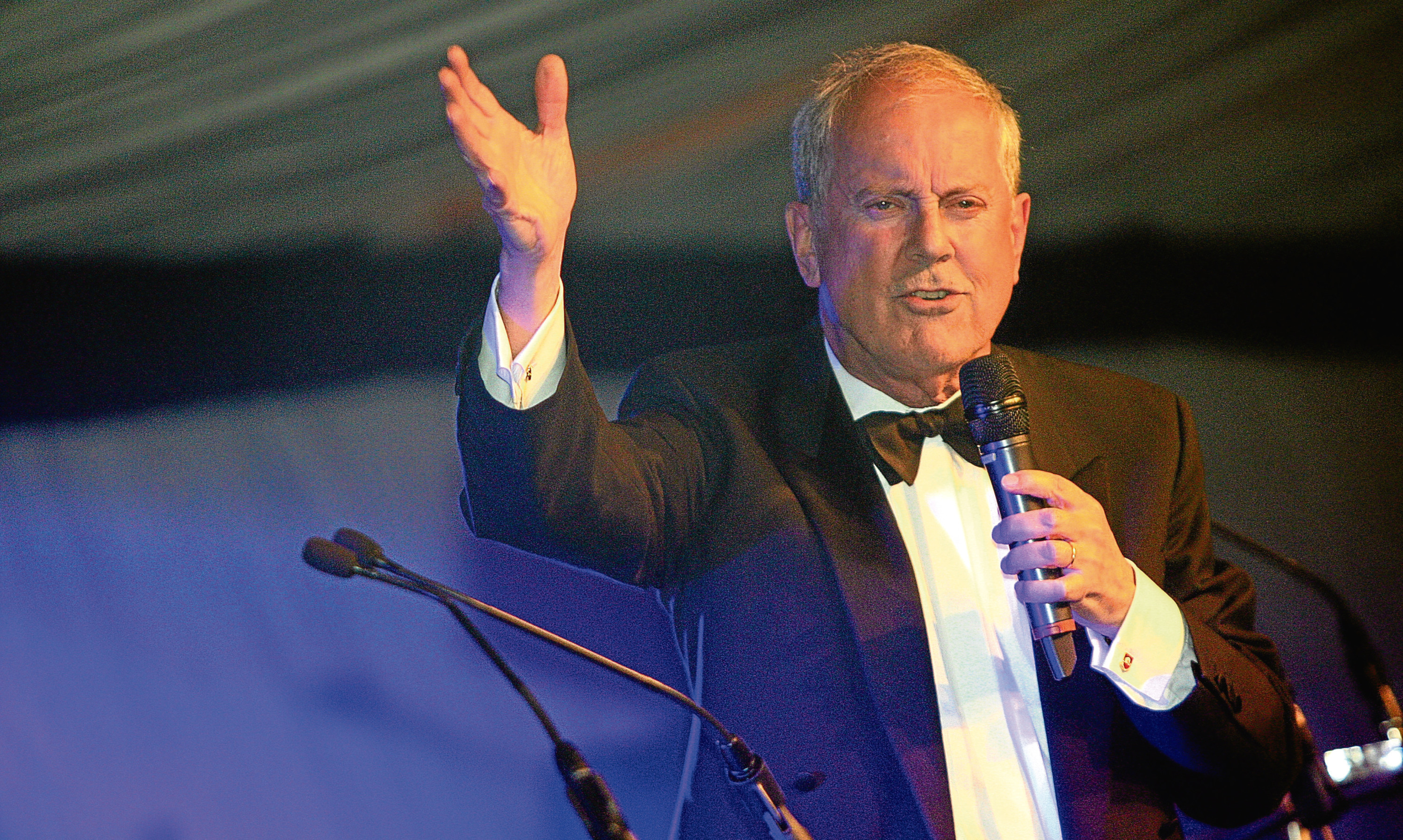 Back by popular demand: Gyles Brandreth returns as host of the 2017 Courier Business Awards