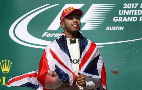 Lewis Hamilton is on his way to a fourth world title.