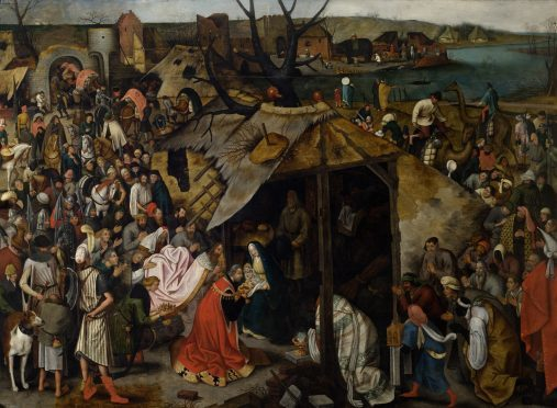The Adoration of the Magi by Pieter Brueghel the Younger.