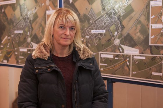 Jill Fortheringham has led the campaign for a flyover for 13 years