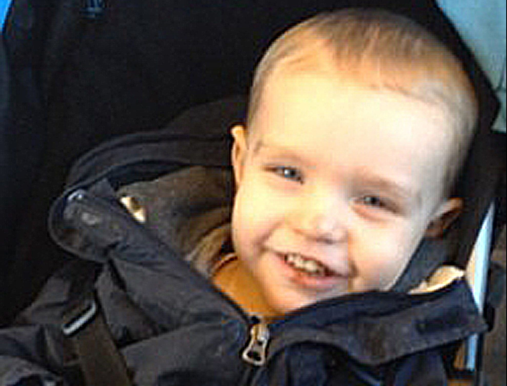 Two-year-old Liam was murdered at his home in Thornton.