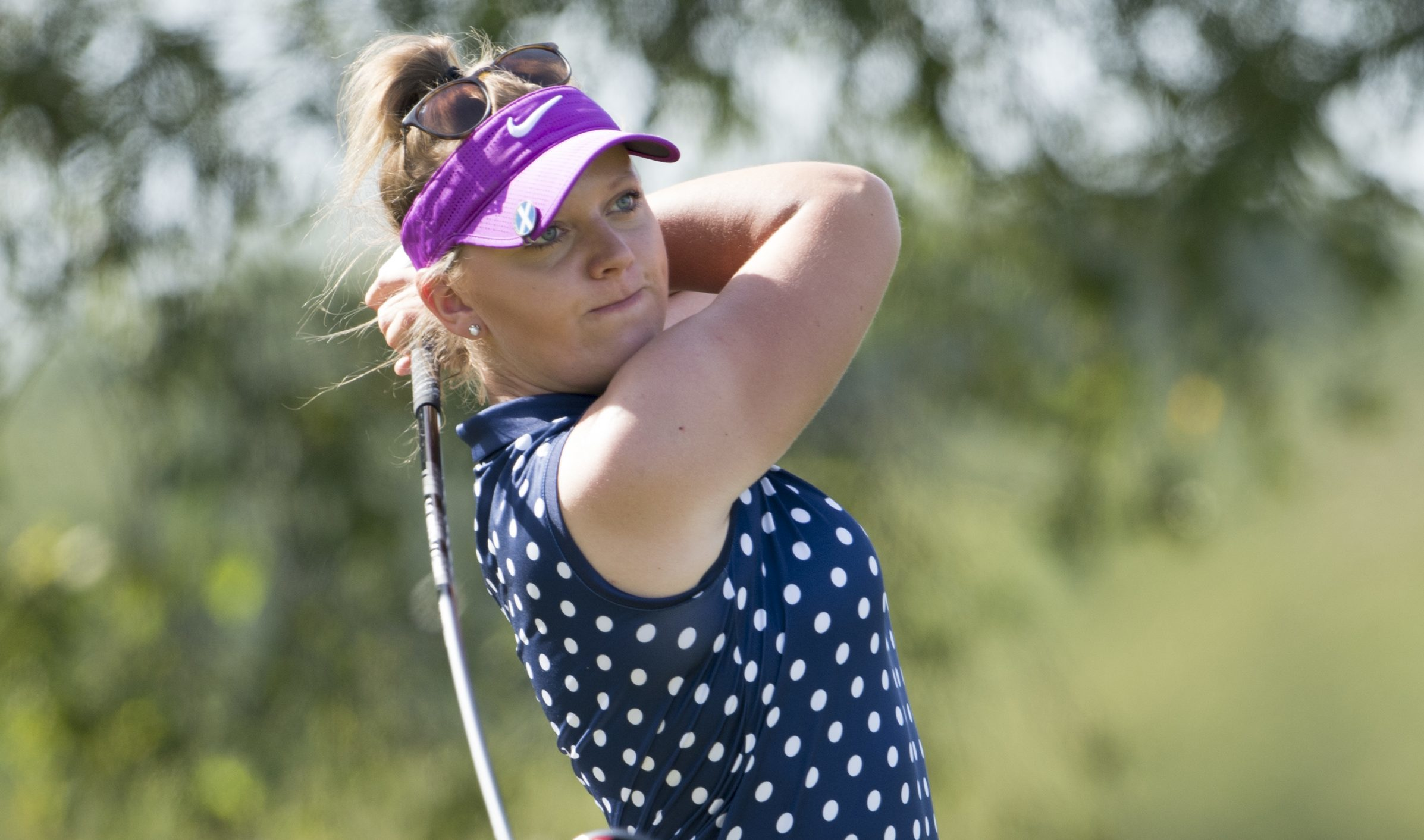 Chloe Goadby ended her matchplay jinx at the Scottish Women's Championship.