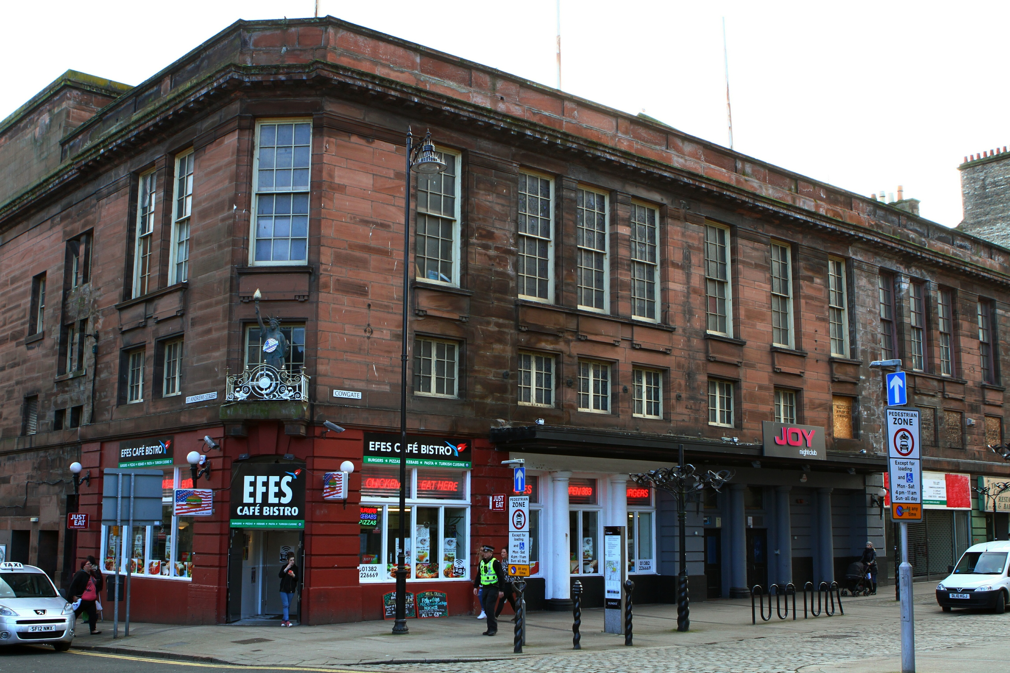 The former King's Theatre in Dundee.