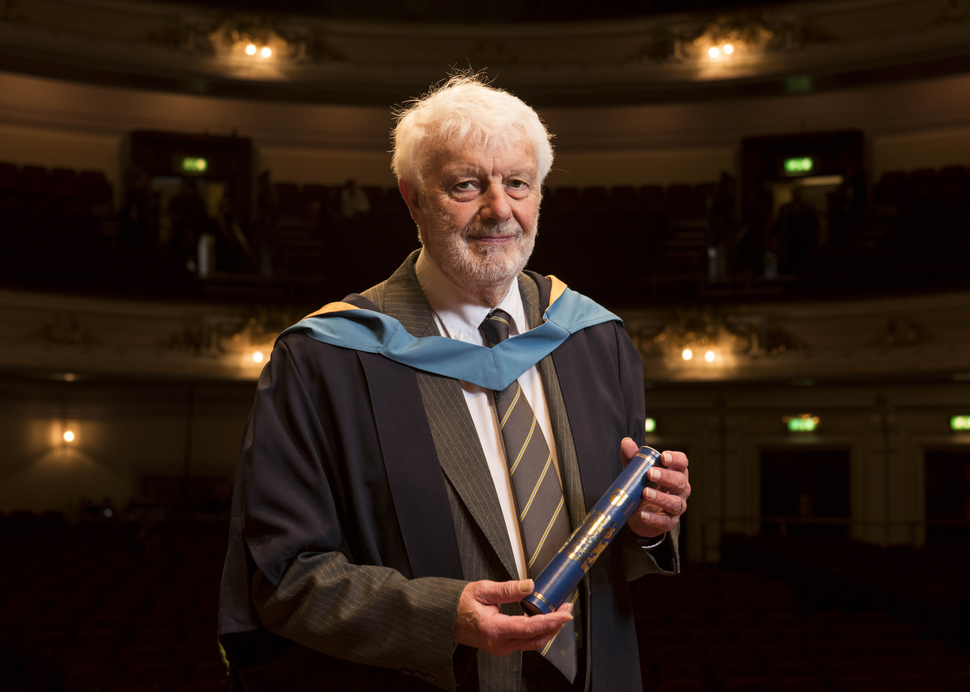 David Cunningham received his degree at the Usher Hall.