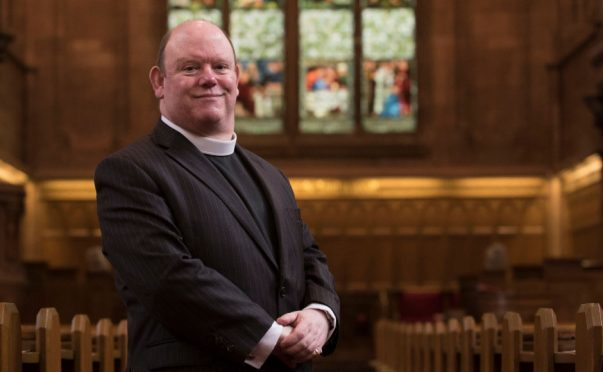 The Moderator of the General Assembly of the Church of Scotland, the Very Rev Dr Robert Browning