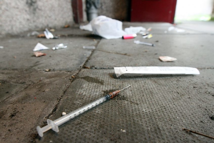 There were 57 drugs deaths in Dundee in 2017