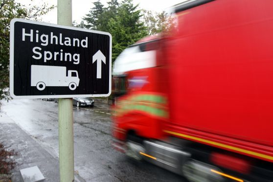 Residents of Blackford are losing patience over the noise nuisance of HGVs visiting the Highland Spring factory.