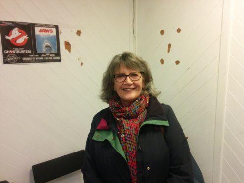 Wilma Fotheringham from Aberdeen.