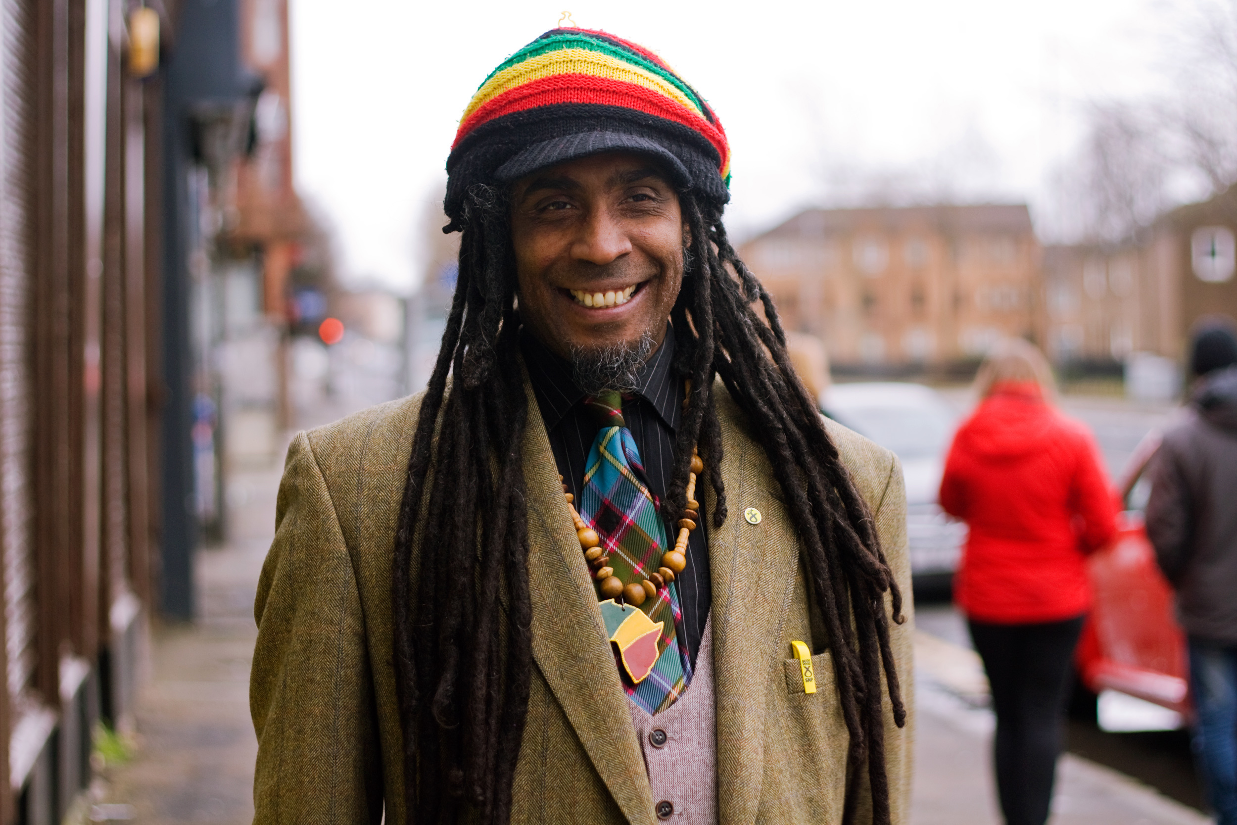 Glasgow's first African Caribbean councillor Graham Campbell