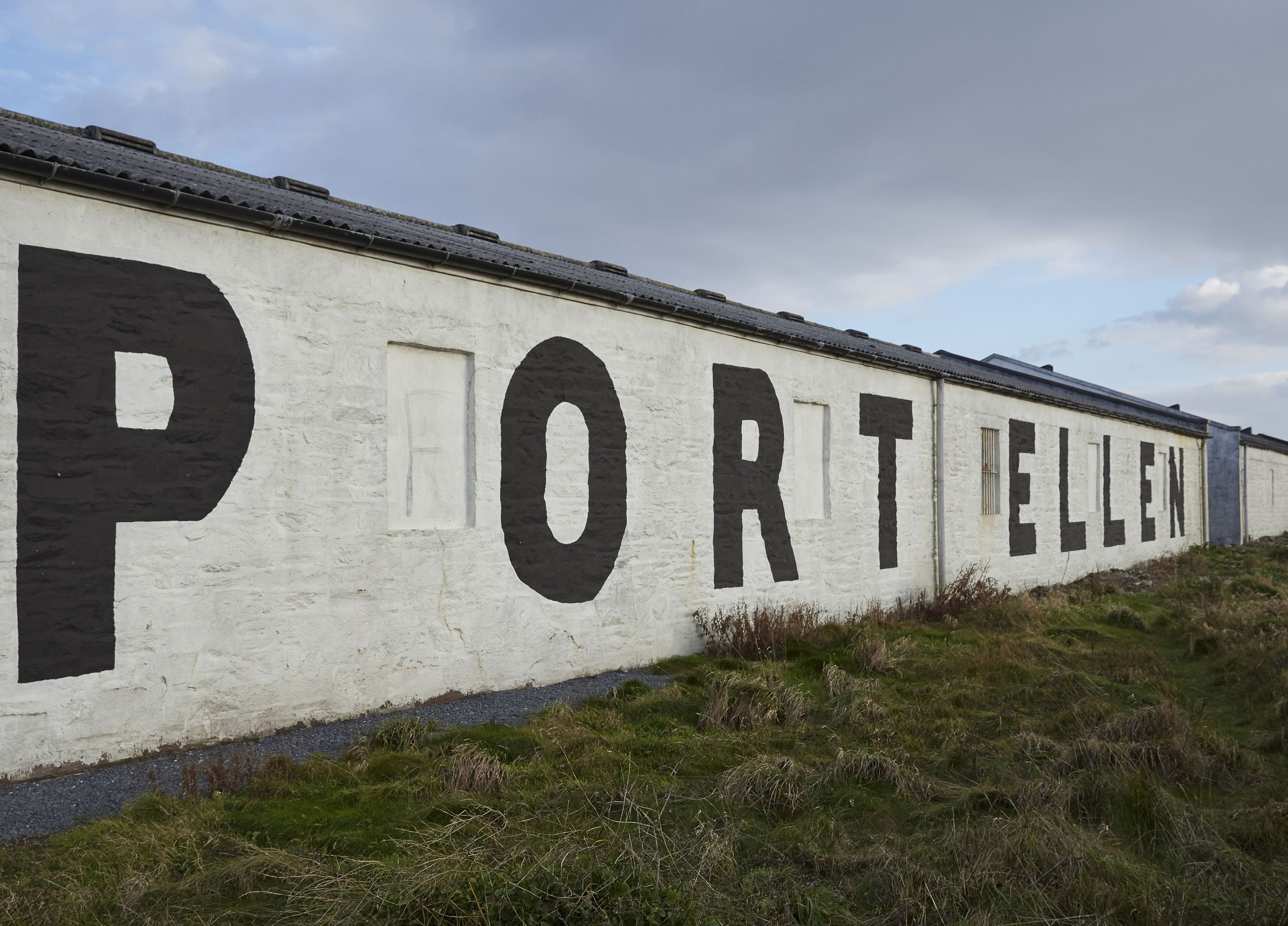 The Port Ellen distillery on the island of Islay which is being brought back into production by drinks giant Diageo.