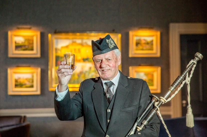 Ian Sword has been wished a happy retirement.