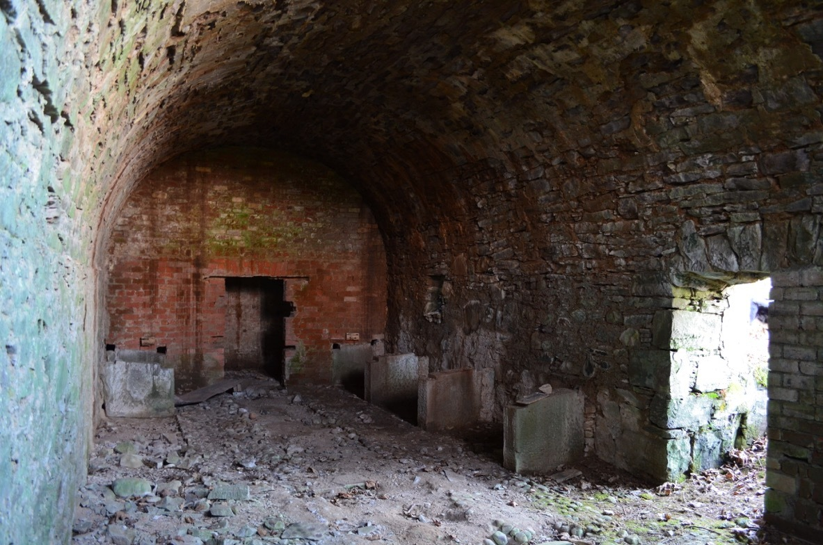 The Icehouse on the Murthly Estate. It may have had wartime uses.