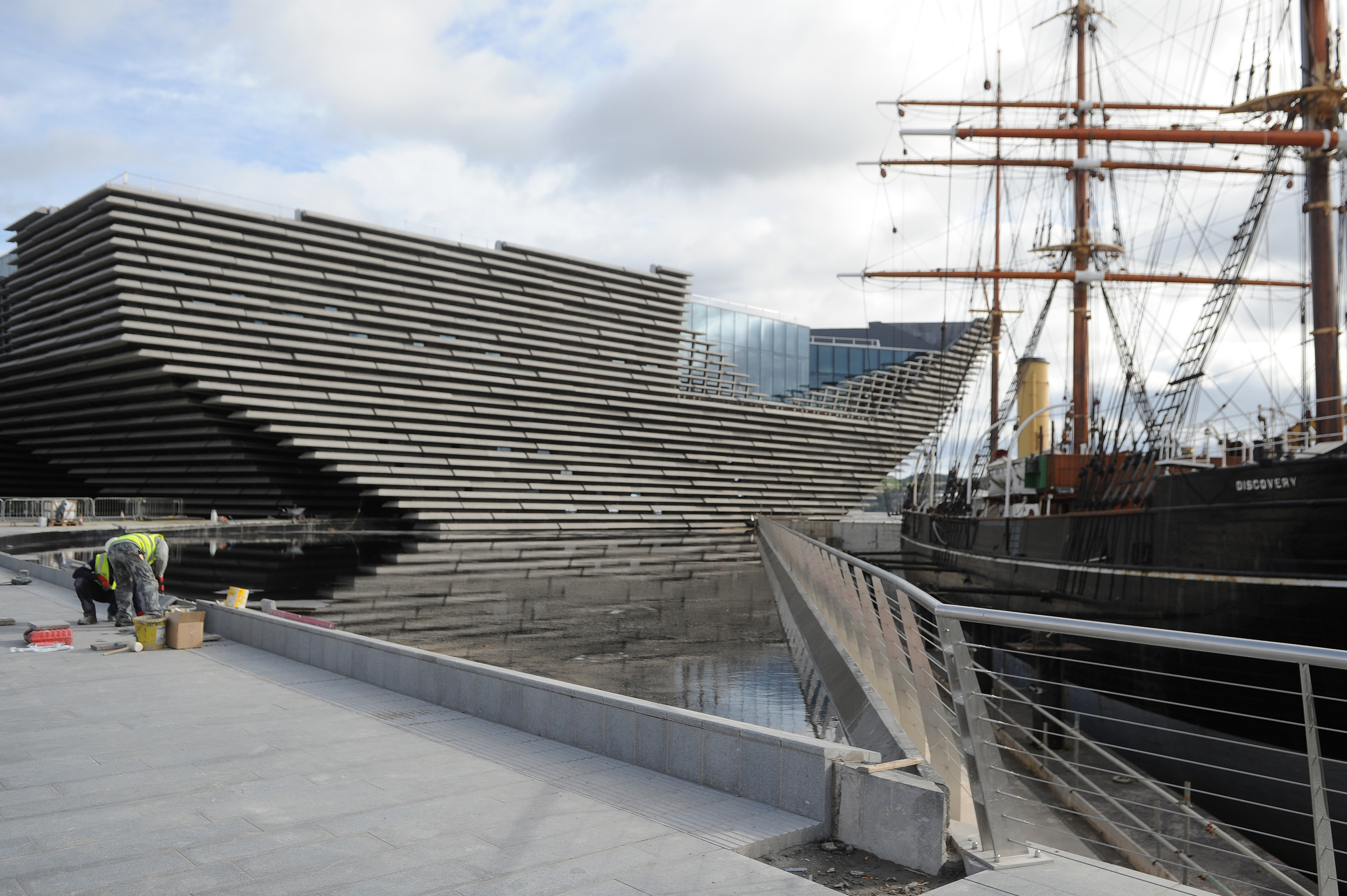 "Ms Short has ""no qualms"" over the success of V&A Dundee"